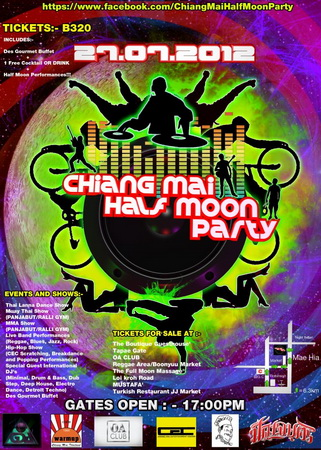Chiang Mai Half Moon Party