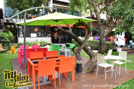 ร้าน Library Coffee : Salad Bar Cafe